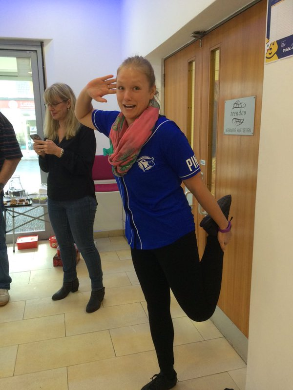 Getting sporty for Children in Need