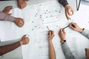 AV design planning meeting