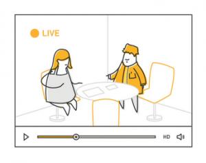 live streaming meetings