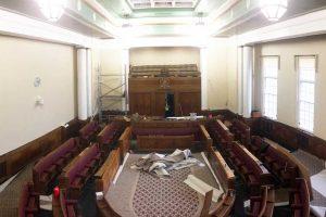 Refurbishment of local authority chamber