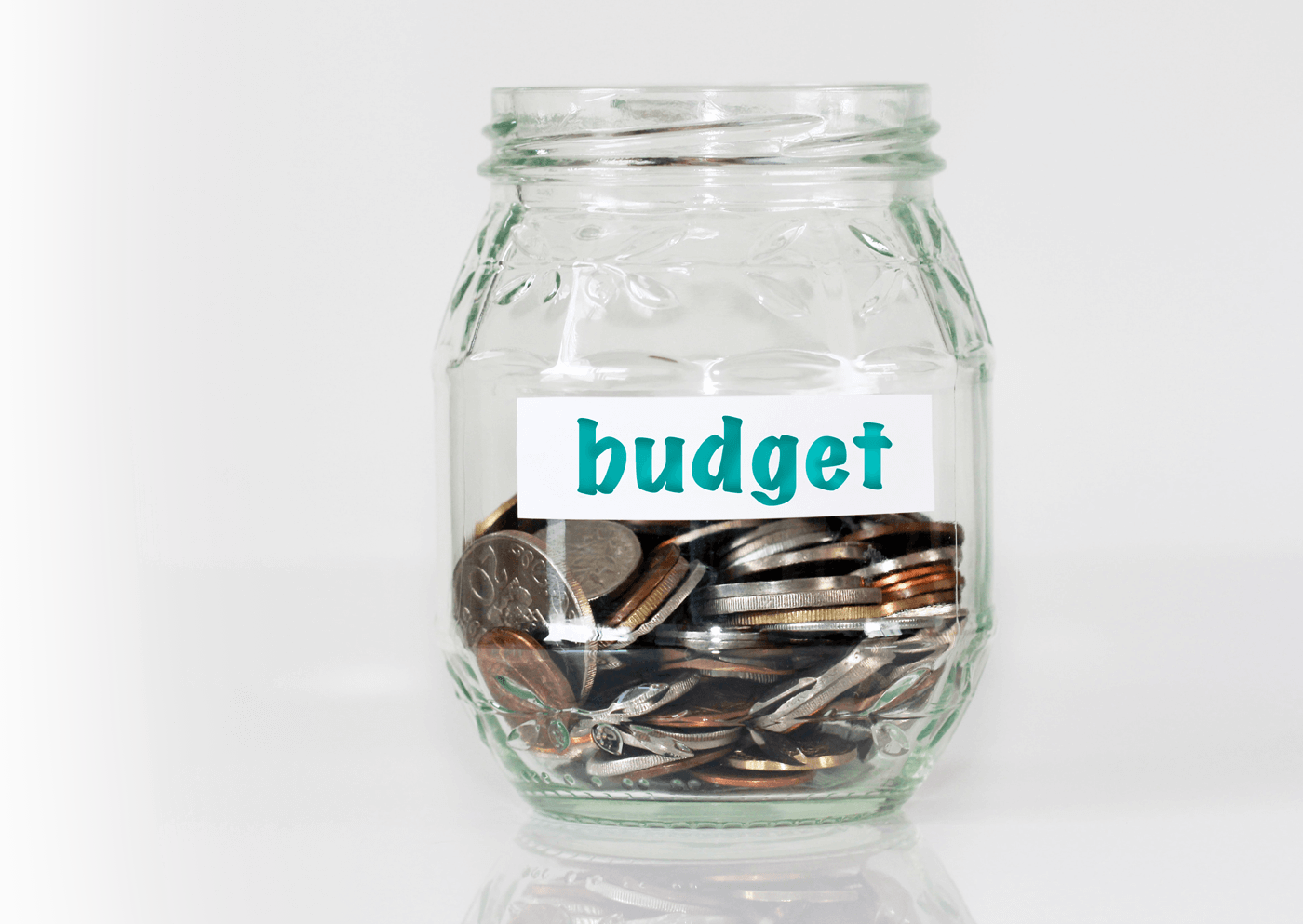 Budget - jar with coins