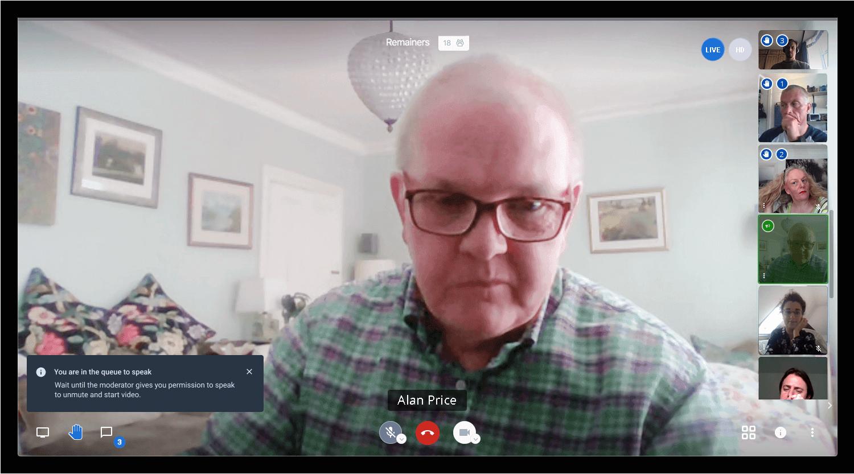 Connect Remote - Participant view