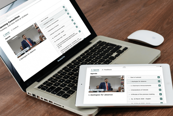 The public can view the live or archived webcast on any device
