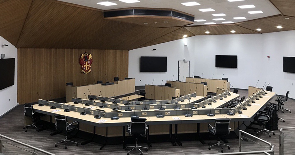 Wolverhampton city council room