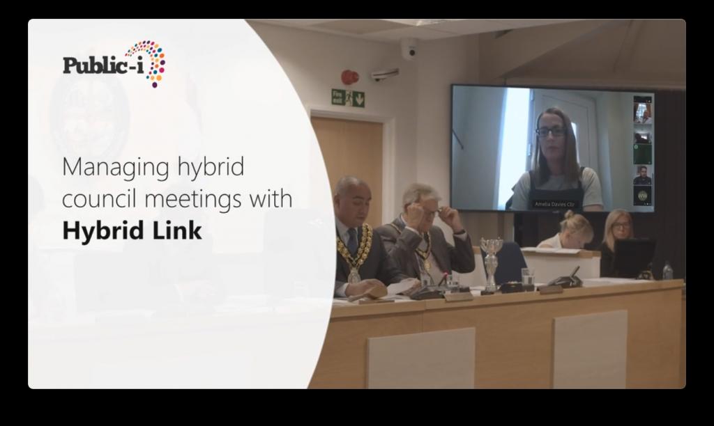 Manage HybridLink meetings